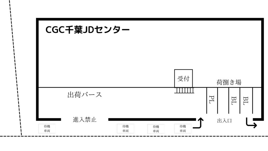 CGC千葉JDセンター 見取り図