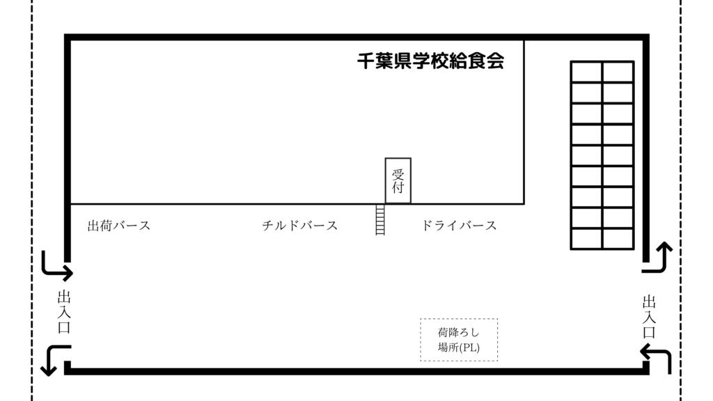千葉県学校給食会 見取り図