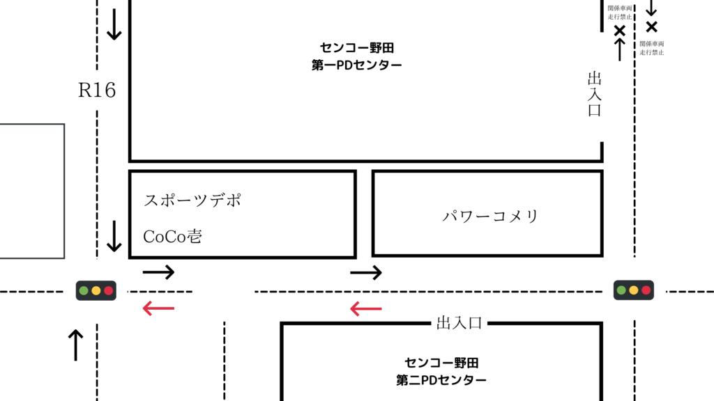 センコー野田第二PDセンター 行き方